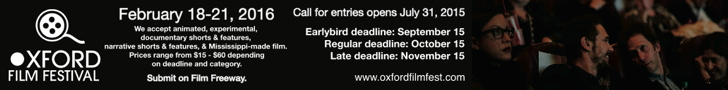 Submit to Oxford Film Festival