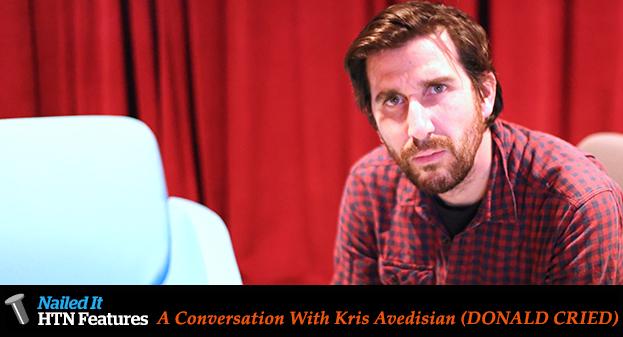 A Conversation With Kris Avedisian (DONALD CRIED)