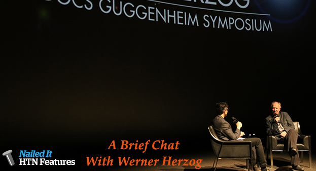 A Brief Chat With Werner Herzog (LO AND BEHOLD)