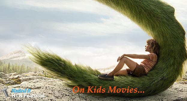 On Kids' Movies…..