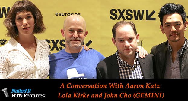 A Conversation With Aaron Katz and Cast (GEMINI)
