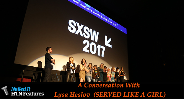 A Conversation With Lysa Heslov (SERVED LIKE A GIRL)