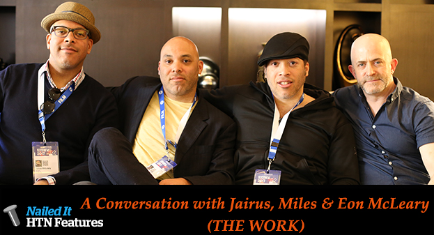 A Conversation with Jairus, Miles & Eon McLeary (THE WORK)