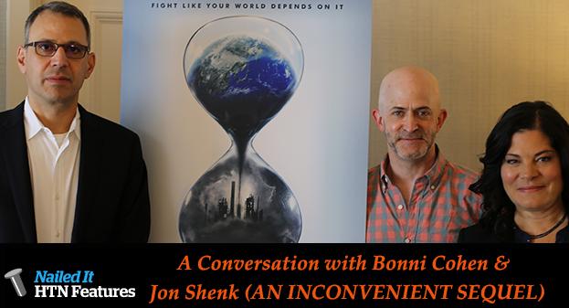 A Conversation with Bonni Cohen & Jon Shenk (AN INCONVENIENT SEQUEL)