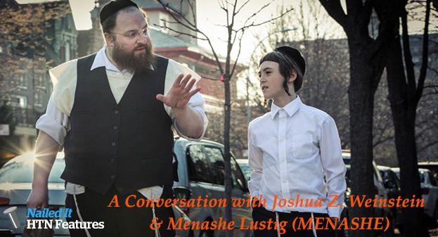 A Conversation with Joshua Z. Weinstein & Menashe Lustig (MENASHE)