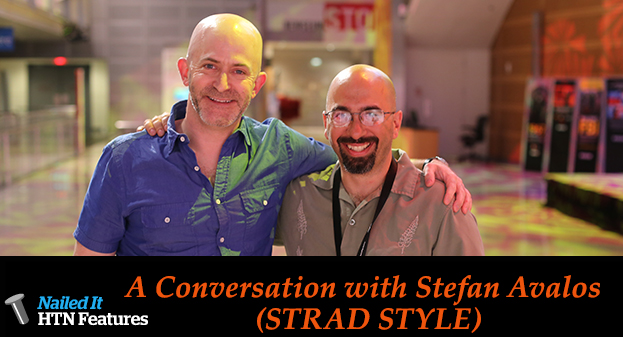 A Conversation with Stefan Avalos (STRAD STYLE)