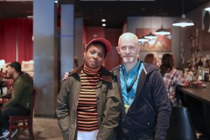 Director Janicza Bravo and our Chris Reed