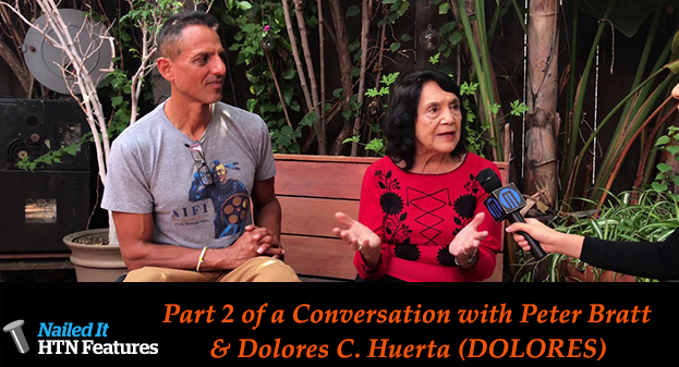 A Conversation with Peter Bratt and Dolores C. Huerta (DOLORES) Part Two