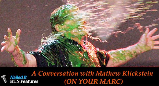 A Conversation with Mathew Klickstein (ON YOUR MARC)