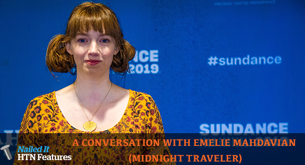 A CONVERSATION WITH EMELIE MAHDAVIAN (MIDNIGHT TRAVELER)