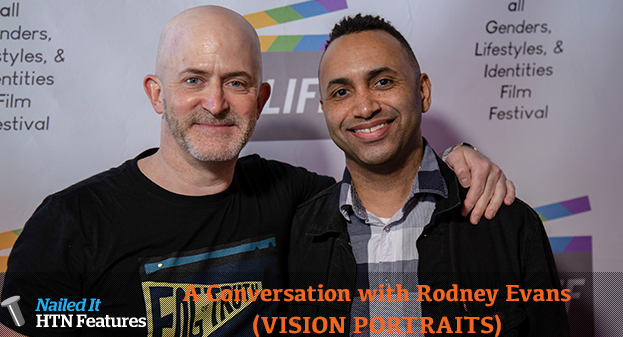 A Conversation with Rodney Evans (VISION PORTRAITS)