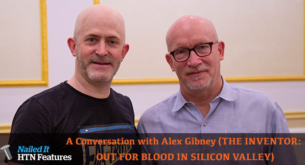 A Conversation with Alex Gibney (THE INVENTOR: OUT FOR BLOOD IN SILICON VALLEY)