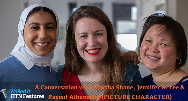 A Conversation with Martha Shane, Jennifer 8. Lee and Rayouf Alhumedhi (PICTURE CHARACTER)