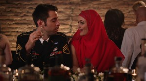 Martin Starr and Dina Shihabi
