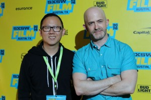 Filmmaker Patrick Shen and HtN's Chris Reed