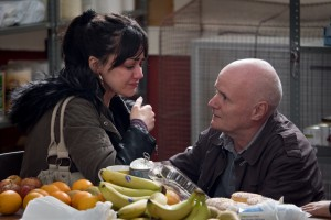 "Hayley Squires and Dave Johns in ""I, Daniel Blake"""