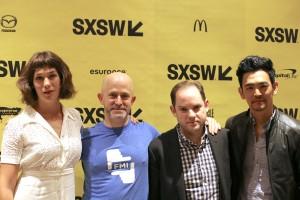 Lola Kirke, our Chris Reed, writer/director Aaron Katz and John Cho