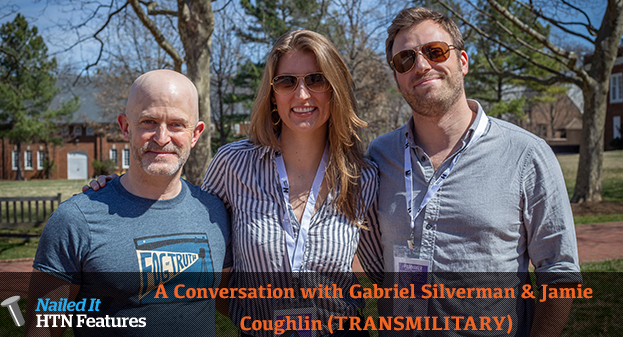 A Conversation with Gabriel Silverman & Jamie Coughlin (TRANSMILITARY)