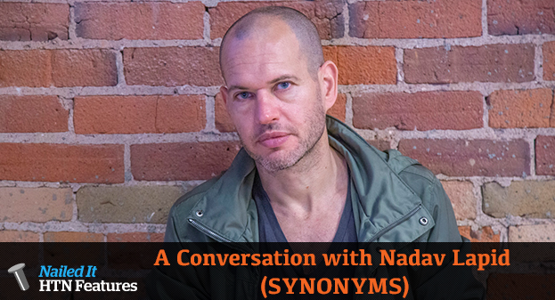 A Conversation with Nadav Lapid (SYNONYMS)