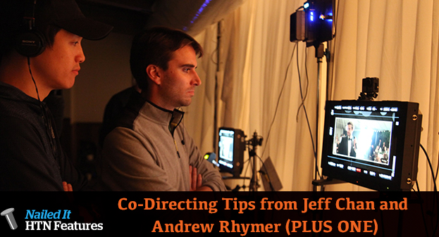 Co-Directing Tips from Jeff Chan and Andrew Rhymer (PLUS ONE)